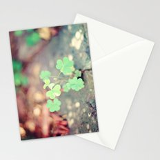 Shamrocks Stationery Cards