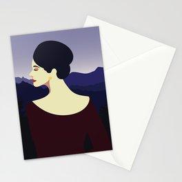 Girl Retro Style 09 Stationery Cards