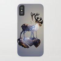 reindeer iPhone & iPod Cases featuring Reindeer by infloence