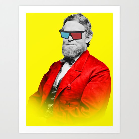 This is the new retro Art Print