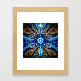 Cosmic Collage Framed Art Print