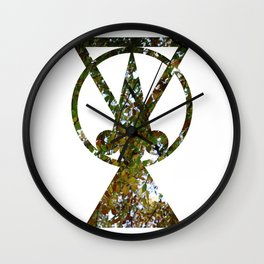 Spring spirit #2 Wall Clock