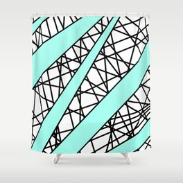 Lazer Dance T Shower Curtain