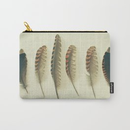 Feathers #2 Carry-All Pouch