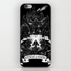 School of Witchcraft and Wizardry iPhone Skin
