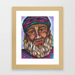 Wisdom Keeper Color #25 (Universal Love) Framed Art Print