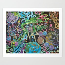 """Universal Tears"" Art Print"