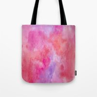 valentine Tote Bags featuring Valentine by HollyJonesEcu