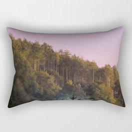 Daynight woodland activities Rectangular Pillow