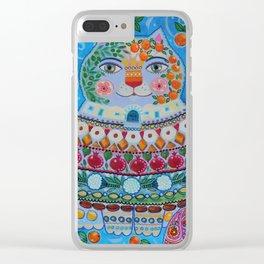 Tunisian folk Clear iPhone Case