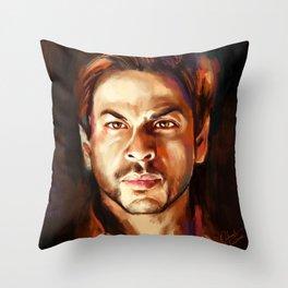 Shahrukh Khan Throw Pillow