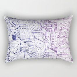 Organized Chaos Rectangular Pillow