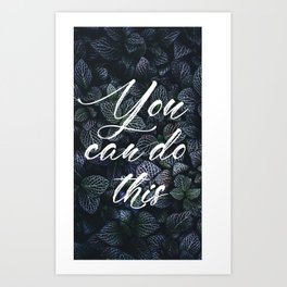 Fight for impossible Art Print