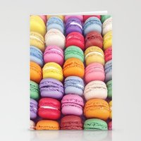 macarons Stationery Cards featuring Macarons by Sankakkei SS