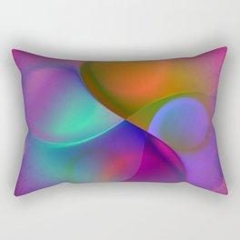 crossing colors -a- Rectangular Pillow