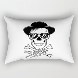 Timmy Trumpet Skull Kid Rectangular Pillow