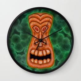 Big Mouth Orange Wall Clock
