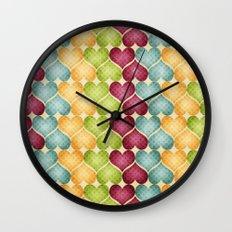 Hearts For Hearts. Wall Clock