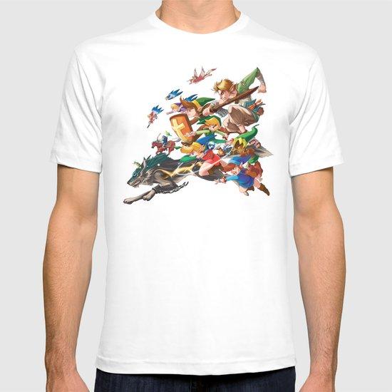 Zelda Mash Up T-shirt