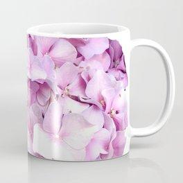 Nantucket Pink Hydrangea Flower Coffee Mug
