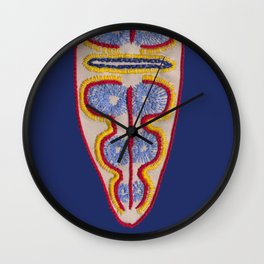 Diatom nr3 Wall Clock
