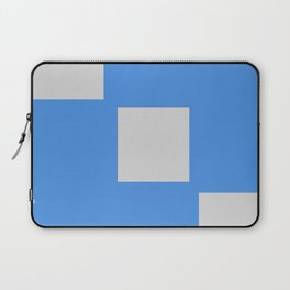 Blue Squares 1:29pm 9/21 Laptop Sleeve