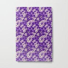 Ultra Violet Spring Metal Print