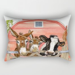 The Farm Rectangular Pillow