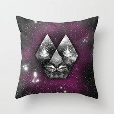 cosmic tiger Throw Pillow