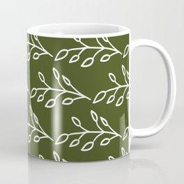 Feeling of lightness Pattern- Pine needle green Coffee Mug