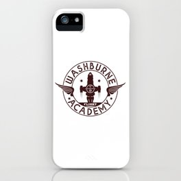 Washburne Flight Academy iPhone Case