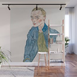 Egon Schiele - One-Year Volunteer Lance-Corporal Wall Mural