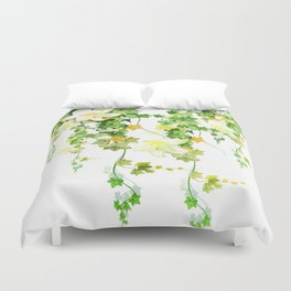 Watercolor Ivy Duvet Cover