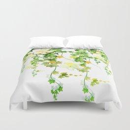 Watercolor Ivy Duvet Cover