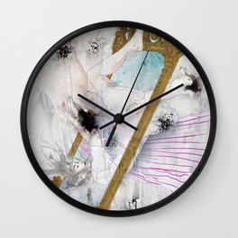 Looking-Glass Wall Clock