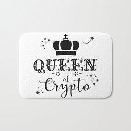 Queen of Crypto Bath Mat