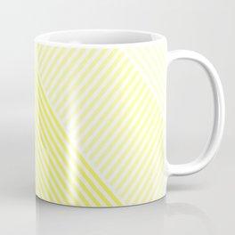 Shades of Yellow Abstract geometric pattern Coffee Mug