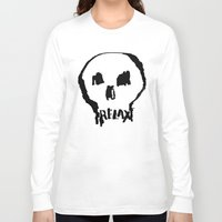 relax Long Sleeve T-shirts featuring RELAX by Josh LaFayette