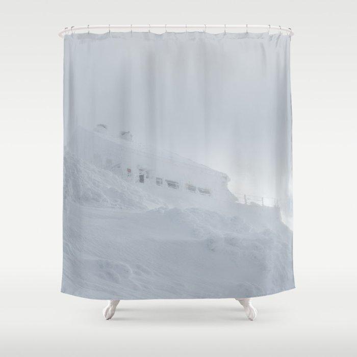 Lodge Draga Karolina On Big Mount Snenik Slovenia Shower Curtain