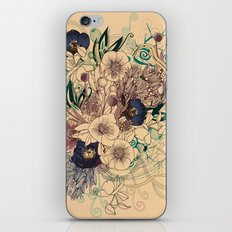 Zentangle Floral mix iPhone & iPod Skin