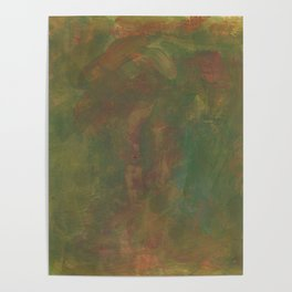 abstract earthy tones Poster