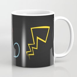 Starters in Black Coffee Mug