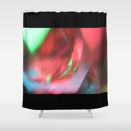 Abstract Energy  Shower Curtain