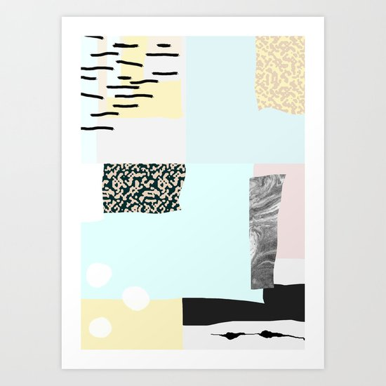 On the wall#4 Art Print