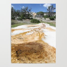 Canary Hot Springs Poster