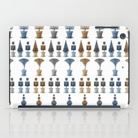 grid iPad Cases featuring grid by garth henderson