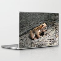 frog Laptop & iPad Skins featuring frog by death above