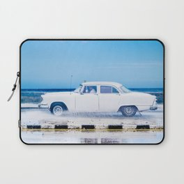 Waves and Classic Cars of the Malecón - 1 Laptop Sleeve