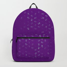 aquarius zodiac sign pattern pt Backpack
