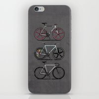brompton iPhone & iPod Skins featuring This Is How I Roll by Wyatt Design